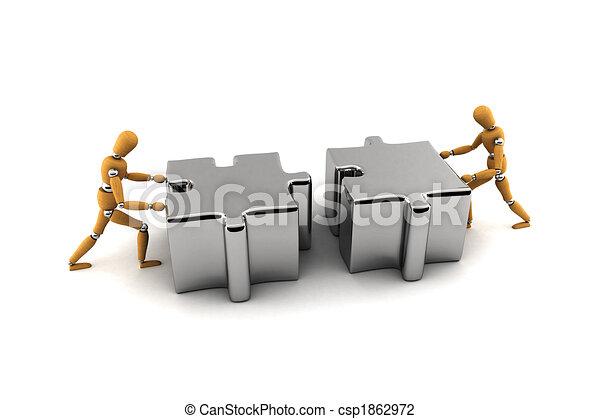 Teamwork - csp1862972