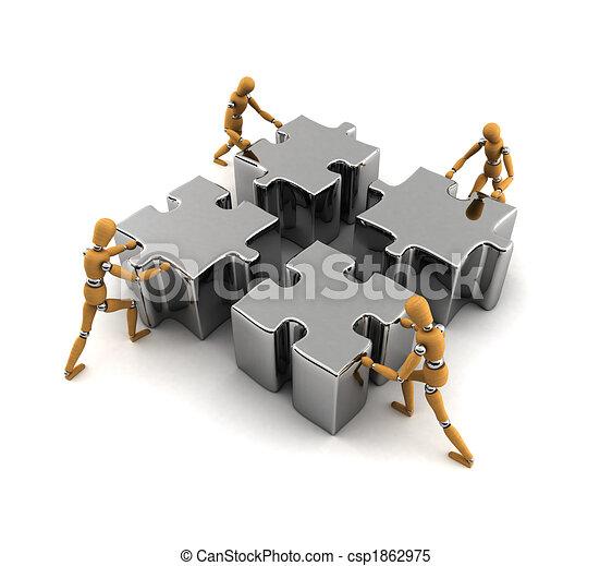 Teamwork - csp1862975