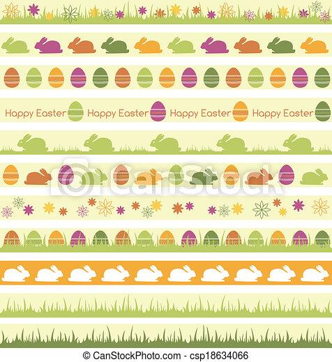 Easter borders - csp18634066