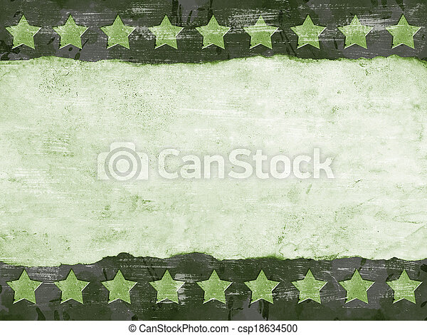 Military Grunge background - csp18634500