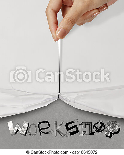 how to open a can with paper