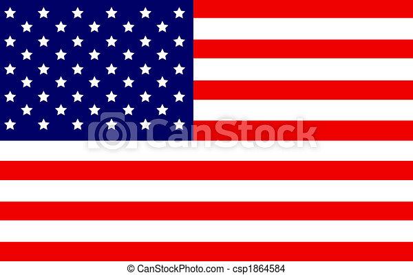 US Flag - csp1864584