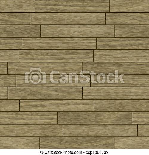 Wooden parquet flooring - csp1864739