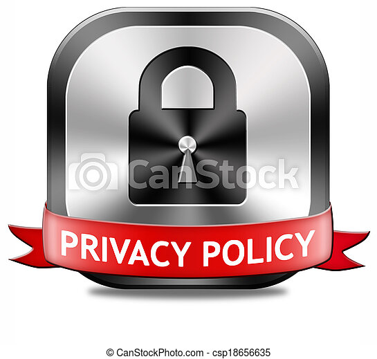 Privacy policy terms of use for data and personal information