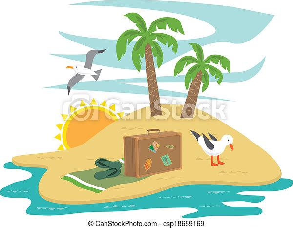 Clipart Treasure Island