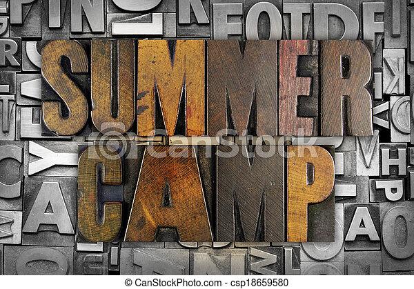 Summer Camp - csp18659580