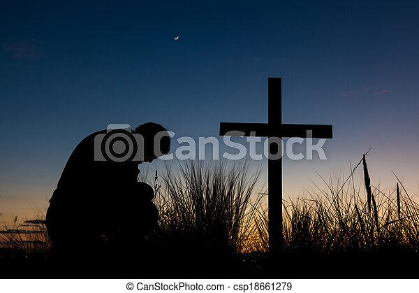 Dawn Prayer - csp18661279