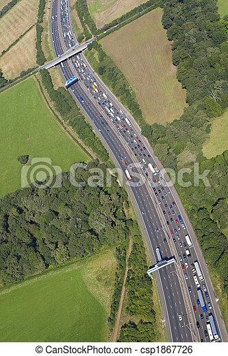 Motorway Congestion - csp1867726