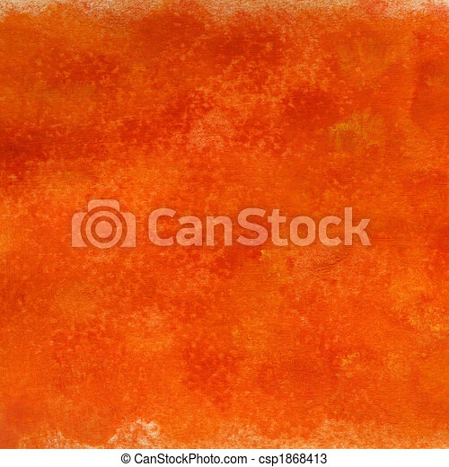 bright red orange grunge painted and scratched texture - csp1868413