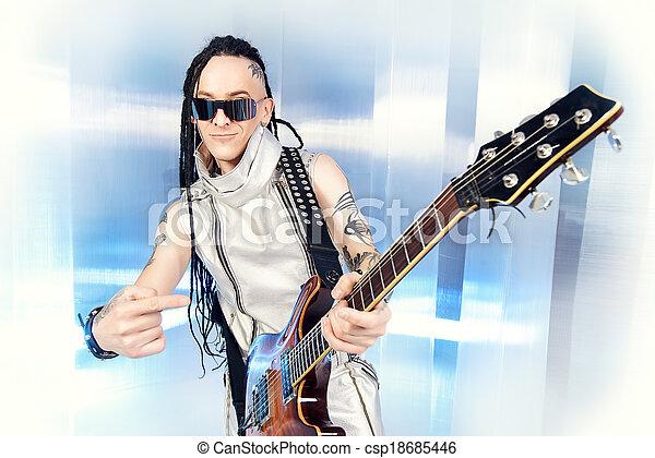 techno rock