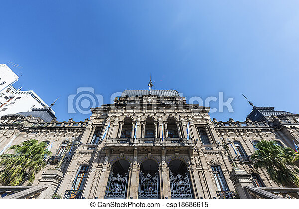 Government Palace in Tucuman, Argentina. - csp18686615