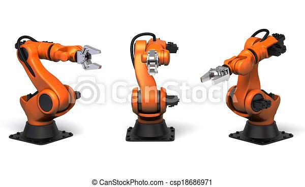Industrial robots - csp18686971