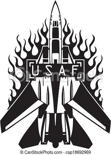 US Air Force - Military Design. - csp18692969