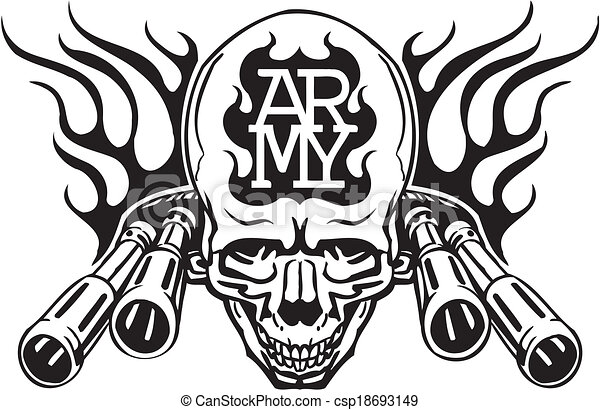 Vectors Illustration of US Army Military Design - Vector ...