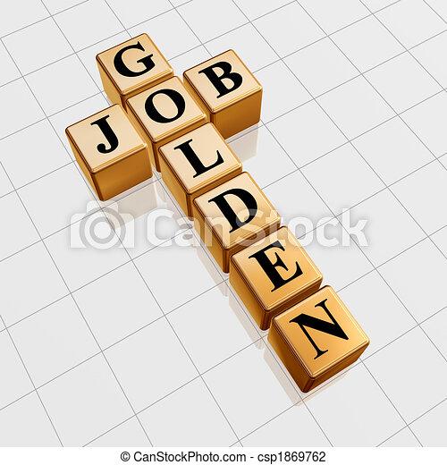 golden job crossword - csp1869762