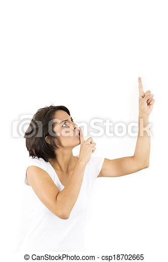 Stock Photo - Shhh - Be Quiet - stock image, images, royalty free ...