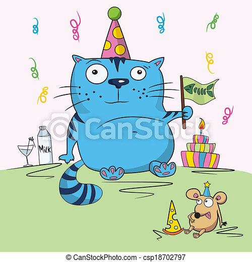 Cartoon Birthday Card Drawing Funny Cartoon Birthday Card