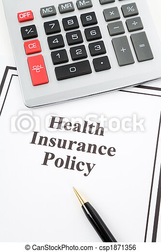 Health Insurance Policy - csp1871356