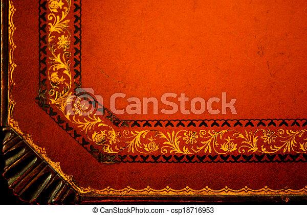 Stock bilder von bek mmert tooled leder tischplatte - Tischplatte ecke ...