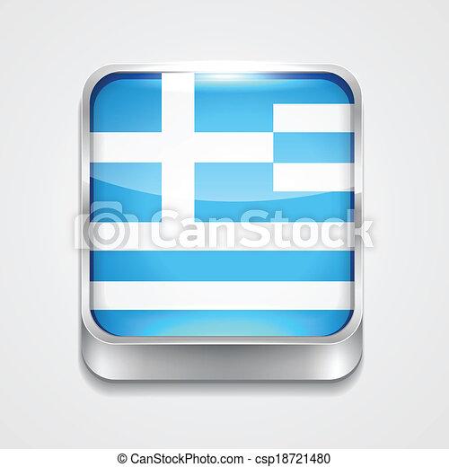 flag of greece - csp18721480