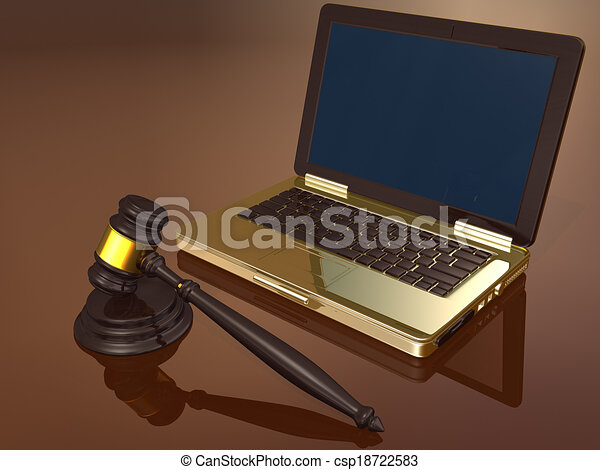 Law and Technology  - csp18722583