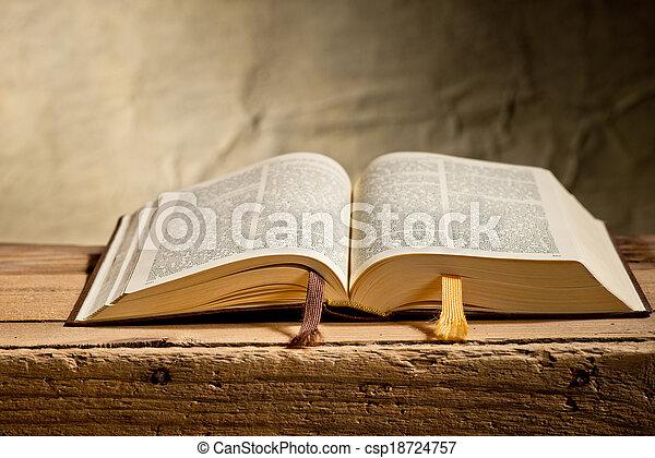 bible - csp18724757