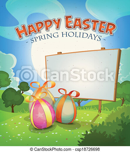 Spring Time And Easter Holidays - csp18726698