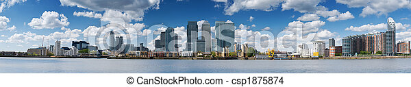 Canary Wharf Skyline - csp1875874