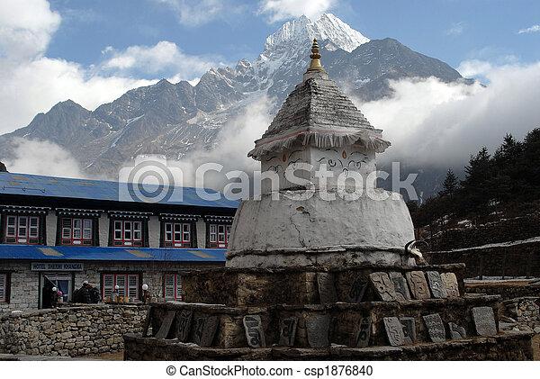 Stupa - csp1876840