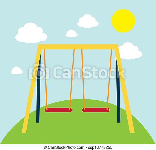 Swing park - csp18773255