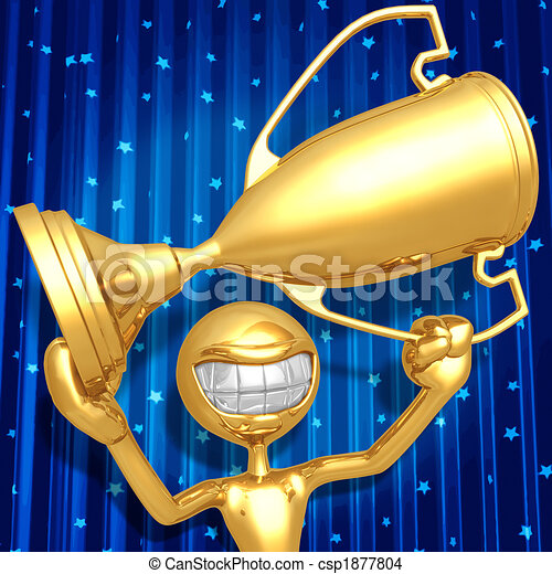 Trophy Award Ceremony - csp1877804