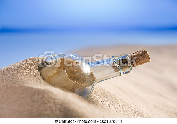 Message In A Bottle - csp1878811