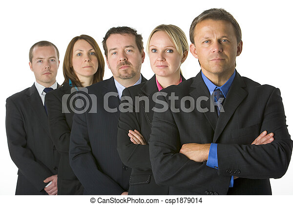 Team Of Business People - csp1879014