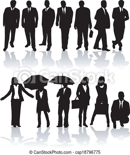 Business people - csp18796775