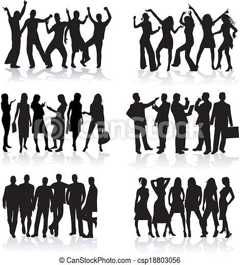 Profiles of people - work and fun