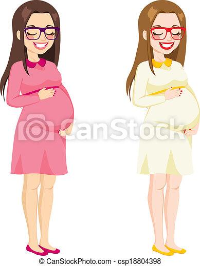 Pregnant clip adult