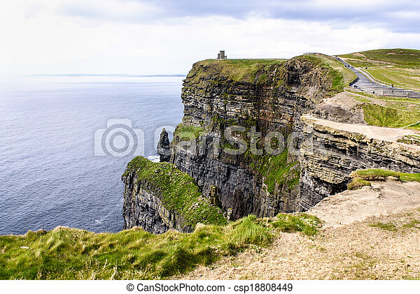 Cliffs of Moher in County Clare, Ireland - csp18808449