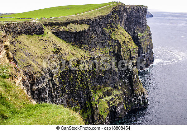 Cliffs of Moher in County Clare, Ireland - csp18808454