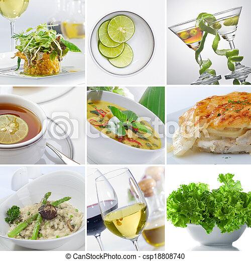 food collage - csp18808740