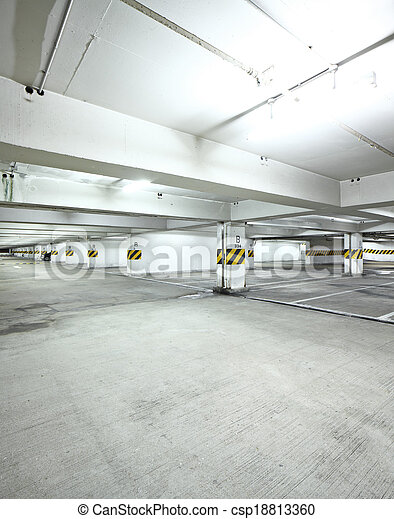 Parking lot - csp18813360