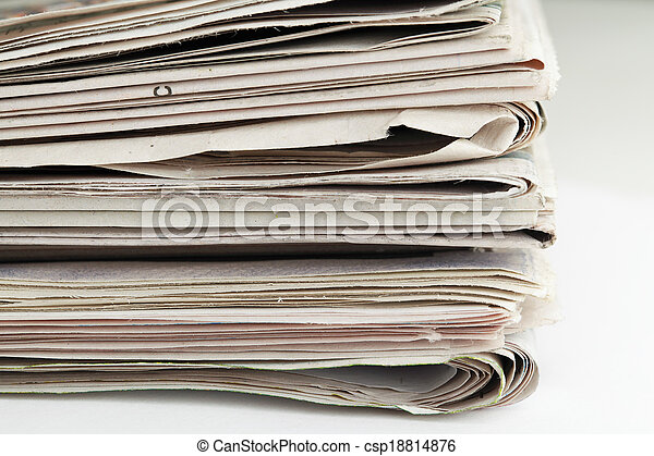 Newspaper - csp18814876