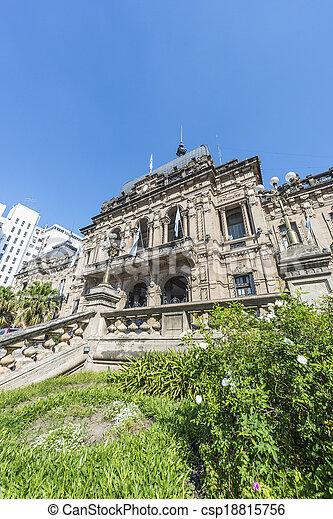 Government Palace in Tucuman, Argentina. - csp18815756