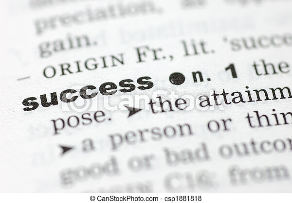 Definition of success - csp1881818