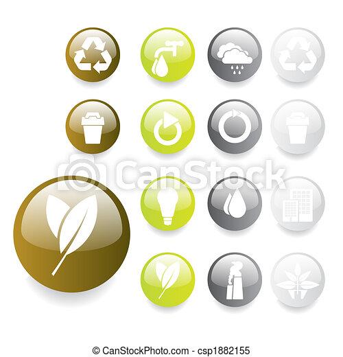 Environmental Buttons - csp1882155