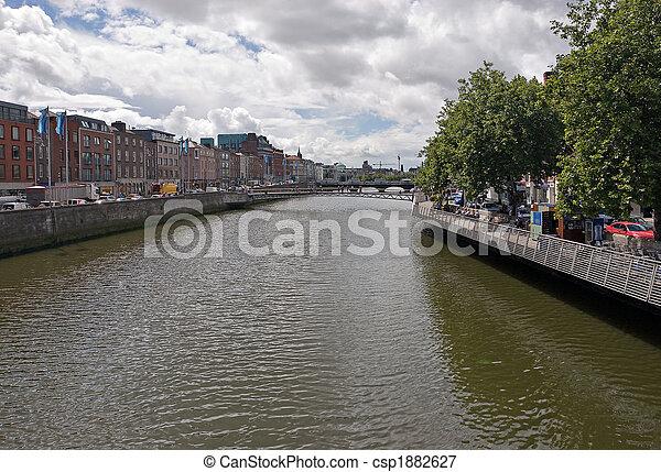 River Liffey - csp1882627