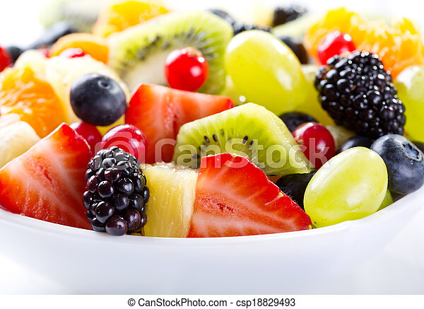 fruit salad - csp18829493