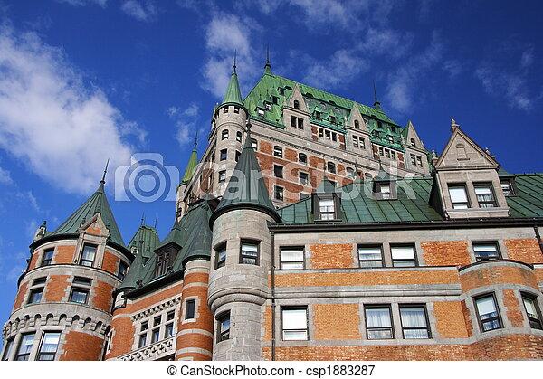 Quebec City tourist attraction - csp1883287