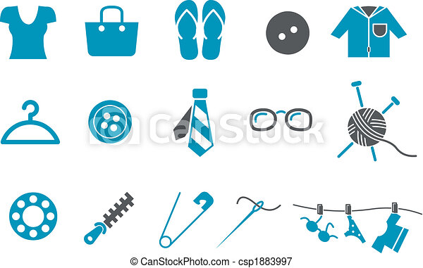 Clothing Icon Set - csp1883997