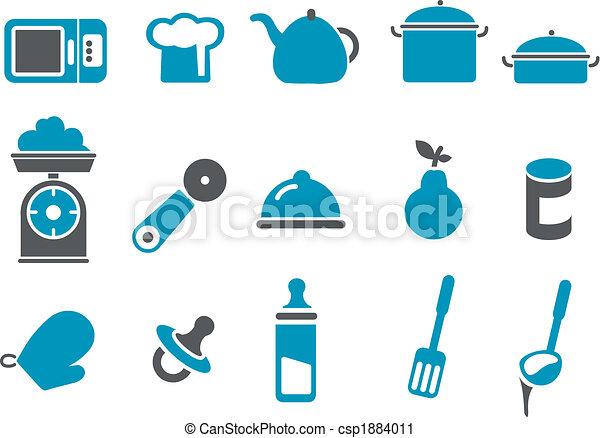 Food icon set - csp1884011