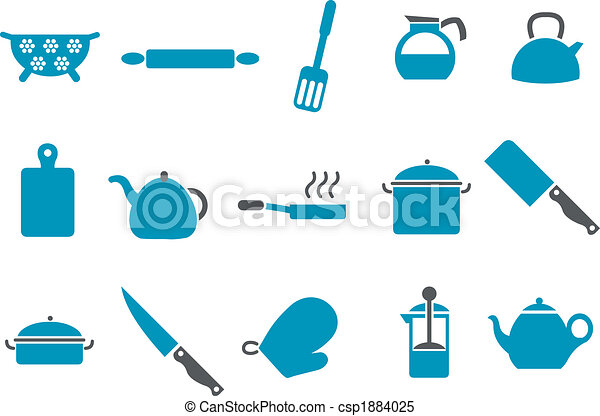 Cooking Tools Icon Set - csp1884025